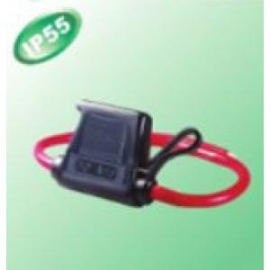 Pouzdro automobilové pojistky 11,9mm Imax:30A Ujmen:32V IP66