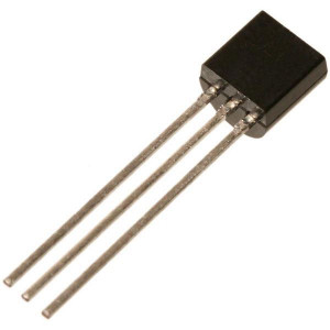 BC550C N 45V/0,1A 0,5W 300MHz TO92