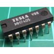 7405 , 6x invertor s otevřeným kolektorem, DIL14, /MH7405,MH5405/