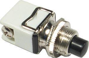 Tlačítko PBC-13C, ON-(OFF) 1pol.250V/2A