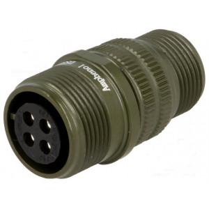 Konektor vojenský Řada DS/MS zástrčka zásuvka 4 PIN na kabel