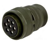 Konektor vojenský Řada DS/MS zástrčka zásuvka 7 PIN na kabel