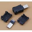USB micro konektor letovací rozebíratelný s prodloužený