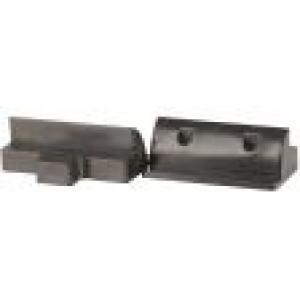 Držák pro fotovoltaický panel přímý- balení 2ks, černý