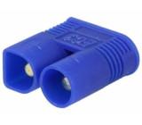 Zástrčka napájecí DC vidlice na kabel pájení Barva: modrá 50A