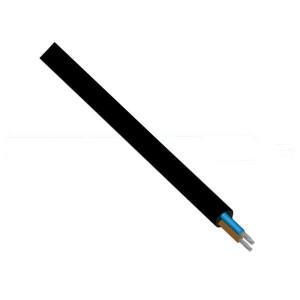 Flexošňůra CYSY 2x0,75mm 1,8m bez koncovek černá