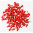 Dutinka pro kabel 0,5mm2 červená