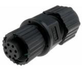 Konektor M12 zástrčka zásuvka 8 PIN pájení na kabel přímý
