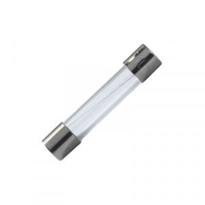 Pojistka tavná zpožděná sklěněná 1A 250VAC 6,3x32mm mosaz