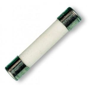 Pojistka tavná zpožděná sklěněná 8A 250VAC 6,3x32mm mosaz