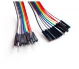 Propojovací kabel pro nepájivé pole nebo ARDUINO 20cm samec - samice