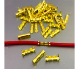 Kabelová spojka - plíšková koncovka pro kabel do 1,5mm