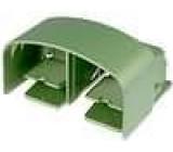 Přepínač nožní bez aretace 2 šlapk 15A/250VAC 30N