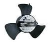 Ventilátor 230VAC Ø220x86mm 780m3/h 52dBA kuličkové 36W