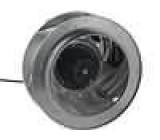Ventilátor blower 230VAC Ø318x138mm 1725,5m3/h 63dBA 115W