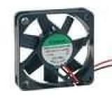 Ventilátor 12VDC 45x45x10mm 15,6m3/h 27dBA kluzné 1,44W
