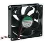 Ventilátor 12VDC 92x92x25mm 93,5m3/h 37,5dBA kuličkové