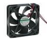 Ventilátor 12VDC 60x60x15mm 18,4m3/h 14,5dBA Vapo 0,63W