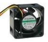 Ventilátor 12VDC 40x40x20mm 15,12m3/h 25,5dBA Vapo 0,84W