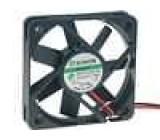Ventilátor 12VDC 50x50x10mm 18,6m3/h 26dBA Vapo 1,26W