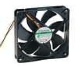 Ventilátor 12VDC 120x120x25mm 183,83m3/h 44,5dBA Vapo