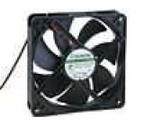 Ventilátor 12VDC 120x120x25mm 158,1m3/h 40,5dBA Vapo 3,4W