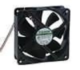 Ventilátor 12VDC 120x120x38mm 234,6m3/h 48dBA Vapo 10W