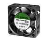 Ventilátor 12VDC 40x40x15mm 23,79m3/h 44,2dBA kuličkové