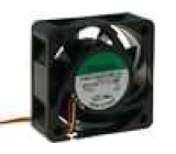 Ventilátor 12VDC 40x40x15mm 23,78m3/h 44,2dBA kuličkové