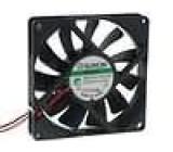 Ventilátor 24VDC 80x80x15mm 62,86m3/h 34,7dBA Vapo 2,21W