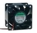 Ventilátor 24VDC 60x60x38mm 70,5m3/h 47dBA kuličkové 5,3W