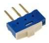 Přepínač posuvný 2 polohy SPDT 0,5A/12VDC ON-ON Poč.výv:3