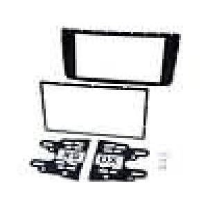 Rámeček pro autorádio 2 DIN Toyota Hilux 2012-> černá