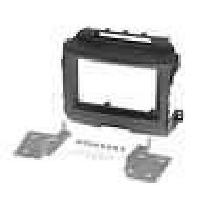 Rámeček pro autorádio 2 DIN Kia Sportage III (SL) 2010/08-> černá