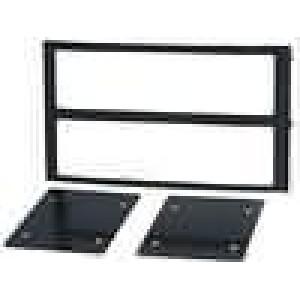 Rámeček pro autorádio 1 DIN,2 DIN Nissan 350 Z 2003->2005 černá