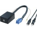 Adaptér AUX-IN pro vstup měniče CD 8 pinů /+CD Audi, Ford,