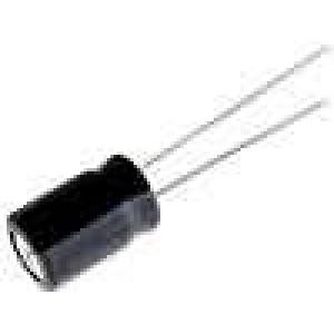 Kondenzátor elektrolytický THT 100uF 16V Ø6,3x11mm ±20%