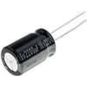 Kondenzátor elektrolytický THT 2200uF 16V Ø12,5x20mm ±20%