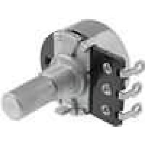 Potenciometr axiální, jednootáčkový 220Ω 200mW ±20% pájení