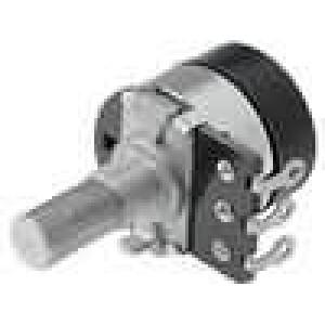 Potenciometr axiální, jednootáčkový 10kΩ 100mW ±20% pájení