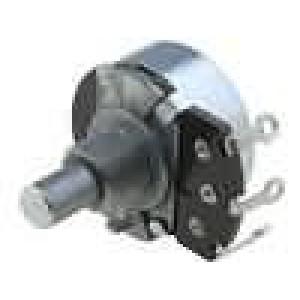 Potenciometr axiální, jednootáčkový 2,2kΩ 500mW ±20% pájení