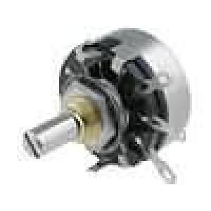 Potenciometr axiální, jednootáčkový 4,7kΩ 2W ±20% pájení 6mm