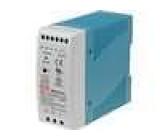 Zdroj spínaný 50W 5VDC 10A 85-264VAC 120-370VDC na DIN lištu
