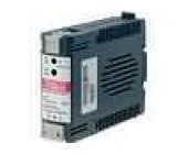 Zdroj spínaný 24W 12VDC 85-264VAC na DIN lištu Výstupy:1
