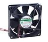 Ventilátor 12VDC 80x80x20mm 49,27m3/h 30dBA Vapo 0,89W