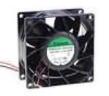 Ventilátor 12VDC 80x80x38mm 193,51m3/h 66,8dBA kuličkové