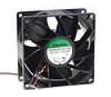 Ventilátor 12VDC 92x92x38mm 309,89m3/h 74,1dBA kuličkové