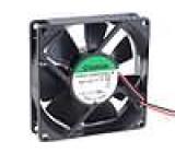 Ventilátor 12VDC 80x80x20mm 90,04m3/h 49dBA kuličkové
