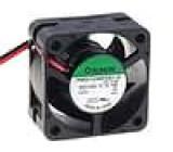 Ventilátor 12VDC 38x38x20mm 20,39m3/h 44dBA kuličkové