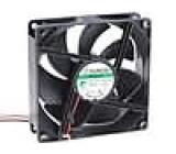 Ventilátor 48VDC 92x92x25mm 127,42m3/h 46dBA Vapo 6W